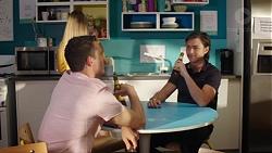 Jack Callaghan, Leo Tanaka in Neighbours Episode 7780