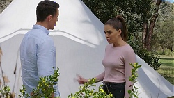 Jack Callaghan, Paige Novak in Neighbours Episode 7781
