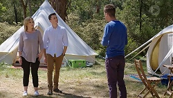 Steph Scully, Jack Callaghan, Mark Brennan in Neighbours Episode 7781