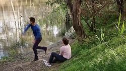 Mark Brennan, Paige Novak in Neighbours Episode 7781