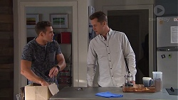 Aaron Brennan, Mark Brennan in Neighbours Episode 7782