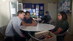 Mark Brennan, Aaron Brennan, Tyler Brennan in Neighbours Episode 7782