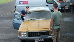 Ben Kirk, Mark Brennan in Neighbours Episode 7783