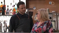 Rafael Humphreys, Sheila Canning in Neighbours Episode 7783