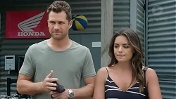 Mark Brennan, Paige Novak in Neighbours Episode 7783