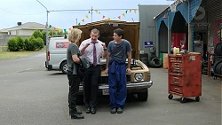 Steph Scully, Toadie Rebecchi, Ben Kirk in Neighbours Episode 7783