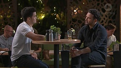 David Tanaka, Rafael Humphreys in Neighbours Episode 7783