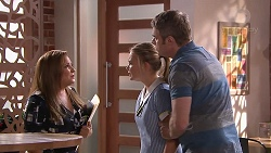 Terese Willis, Xanthe Canning, Gary Canning in Neighbours Episode 7785