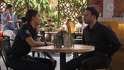Mishti Sharma, Rafael Humphreys in Neighbours Episode 7785