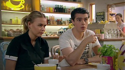 Xanthe Canning, Ben Kirk in Neighbours Episode 7786