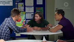Mark Brennan, Tyler Brennan, Aaron Brennan in Neighbours Episode 7786