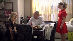 Izzy Hoyland, Karl Kennedy, Holly Hoyland in Neighbours Episode 7786
