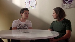 Ben Kirk, Tyler Brennan in Neighbours Episode 7786