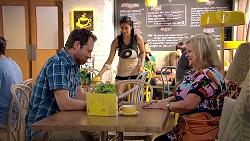 Shane Rebecchi, Yashvi Rebecchi, Sheila Canning in Neighbours Episode 7787