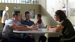 Aaron Brennan, Mark Brennan, Tyler Brennan in Neighbours Episode 7787