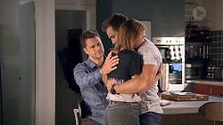 Mark Brennan, Aaron Brennan, Piper Willis in Neighbours Episode 7787