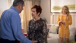 Karl Kennedy, Susan Kennedy, Izzy Hoyland in Neighbours Episode 7788