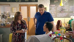 Terese Willis, Gary Canning, Jack Callaghan in Neighbours Episode 7788