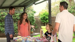 Mark Brennan, Paige Novak, Piper Willis, Jack Callaghan in Neighbours Episode 7788