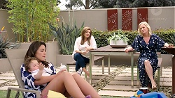 Gabriel Smith, Paige Novak, Terese Willis, Lauren Turner in Neighbours Episode 7789