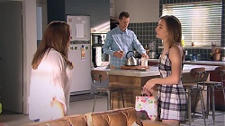 Terese Willis, Mark Brennan, Piper Willis in Neighbours Episode 7789