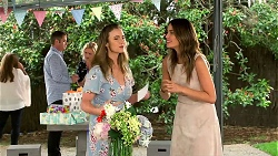 Terese Willis, Gary Canning, Lauren Turner, Amy Williams, Elly Conway in Neighbours Episode 7789