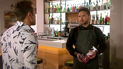 Aaron Brennan, Rafael Humphreys in Neighbours Episode 7789