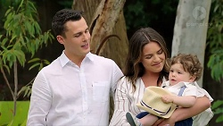 Jack Callaghan, Paige Novak, Gabriel Smith in Neighbours Episode 7789