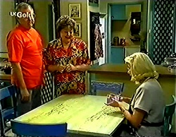 Harold Bishop, Marlene Kratz, Madge Bishop in Neighbours Episode 2772