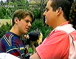 Lance Wilkinson, Philip Martin, Toadie Rebecchi in Neighbours Episode 2772