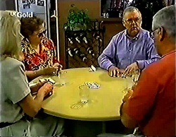 Madge Bishop, Marlene Kratz, Harold Bishop, Lou Carpenter in Neighbours Episode 2772