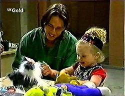 Darren Stark, Louise Carpenter (Lolly) in Neighbours Episode 2773