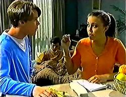 Billy Kennedy, Malcolm Kennedy, Libby Kennedy in Neighbours Episode 2773