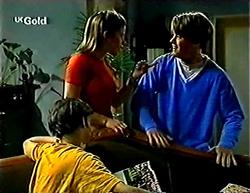 Malcolm Kennedy, Anne Wilkinson, Billy Kennedy in Neighbours Episode 2773