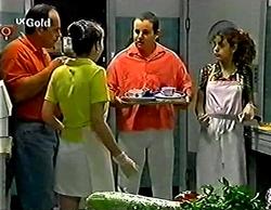 Philip Martin, Debbie Martin, Toadie Rebecchi, Hannah Martin in Neighbours Episode 2774
