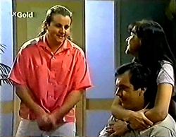 Toadie Rebecchi, Karl Kennedy, Susan Kennedy in Neighbours Episode 2774