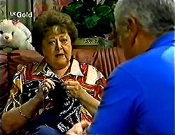 Marlene Kratz, Lou Carpenter in Neighbours Episode 2775