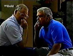 Harold Bishop, Lou Carpenter in Neighbours Episode 2775