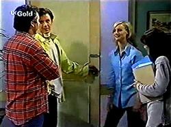 Karl Kennedy, Malcolm Kennedy, Lisa Elliot, Susan Kennedy in Neighbours Episode 2776