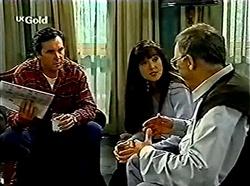 Karl Kennedy, Susan Kennedy, Harold Bishop in Neighbours Episode 2776