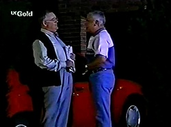 Harold Bishop, Lou Carpenter in Neighbours Episode 2776