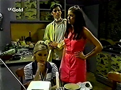 Joanna Hartman, Malcolm Kennedy, Sarah Beaumont in Neighbours Episode 2776