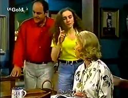 Philip Martin, Debbie Martin, Helen Daniels in Neighbours Episode 2782