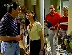 Karl Kennedy, Susan Kennedy, Philip Martin, Ruth Wilkinson in Neighbours Episode 2782