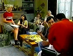 Ruth Wilkinson, Susan Kennedy, Karl Kennedy, Philip Martin in Neighbours Episode 2782