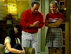 Susan Kennedy, Philip Martin, Ruth Wilkinson in Neighbours Episode 2782