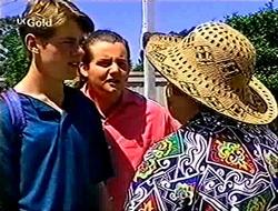 Lance Wilkinson, Toadie Rebecchi, Marlene Kratz in Neighbours Episode 2783