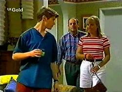 Lance Wilkinson, Philip Martin, Ruth Wilkinson in Neighbours Episode 2783