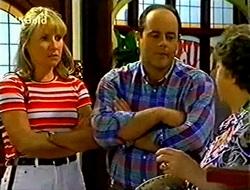 Ruth Wilkinson, Philip Martin, Marlene Kratz in Neighbours Episode 2783