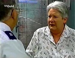 Harold Bishop, Claudia Harvey in Neighbours Episode 2784